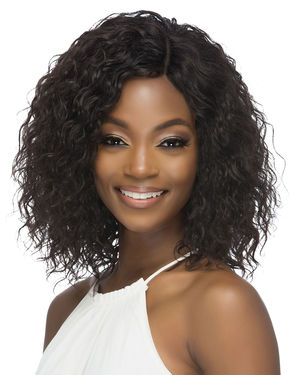 Astrid Lace Part Remy Human Hair Wig by Vivica Fox