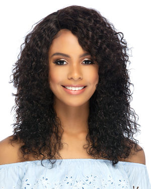 Marion Lace Front & Lace Part Remy Human Hair Wig by Vivica Fox