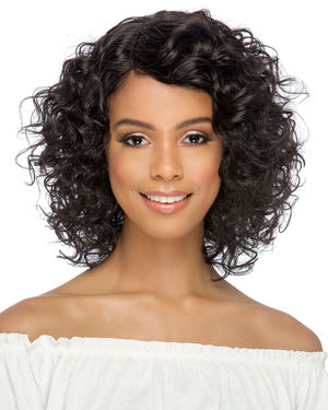 Darin Lace Front & Lace Part Remy Human Hair Wig by Vivica Fox