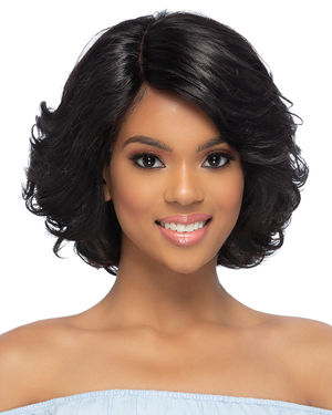 Plumeria Lace Front & Lace Part Remy Human Hair Wig by Vivica Fox