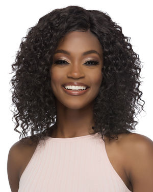 Virginia Lace Front & Lace Part Remy Human Hair Wig by Vivica Fox
