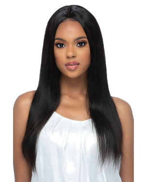 Elodie Lace Front & Lace Part Remy Human Hair Wig by Vivica Fox