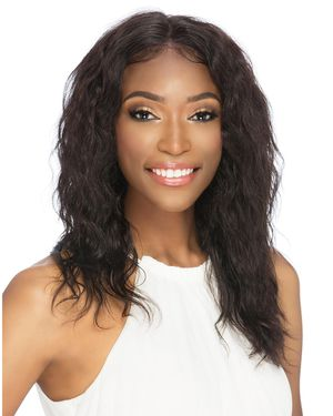 Ophelia Lace Front & Lace Part Remy Human Hair Wig by Vivica Fox