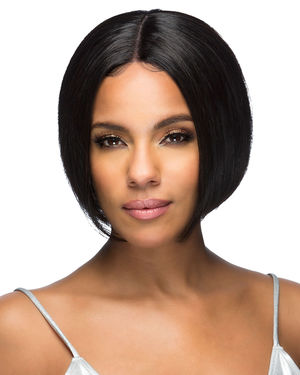 Isla Lace Front & Lace Part Remy Human Hair Wig by Vivica Fox