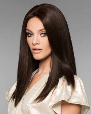 Alexandra Petite Monofilament Human Hair Wig by Wig Pro