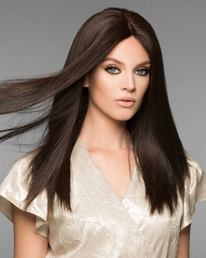 Alexandra Monofilament Human Hair Wig by Wig Pro
