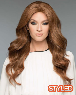 Amber Monofilament Human Hair Wig by Wig Pro