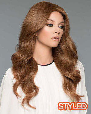 Amber II Monofilament Human Hair Wig by Wig Pro
