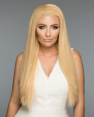 Christina Lace Front & Monofilament Human Hair Wig by Wig Pro