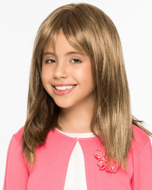 Alyssa V-Mono Kids Lace Front & Monofilament Synthetic Wig by Wig Pro