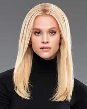 EasiPieces 16 inch Length x 4 inch Width (1pc) Remy Human Hair Piece by Jon Renau