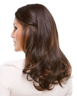 EasiPart HD XL 18 inch Monofilament Clip-in Crown Volumizer Toppers by EasiHair