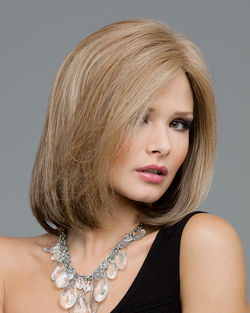 Lynsey Lace Front & Monofilament Human Hair Blend Wig by Envy