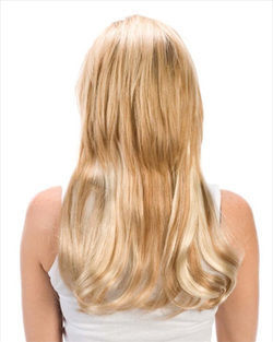 5 Layers 18 inch Clip-in Human Hair Extension by Wig Pro