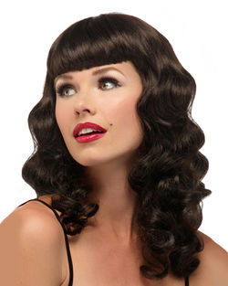 Pin Up Costume Wig by Illusions